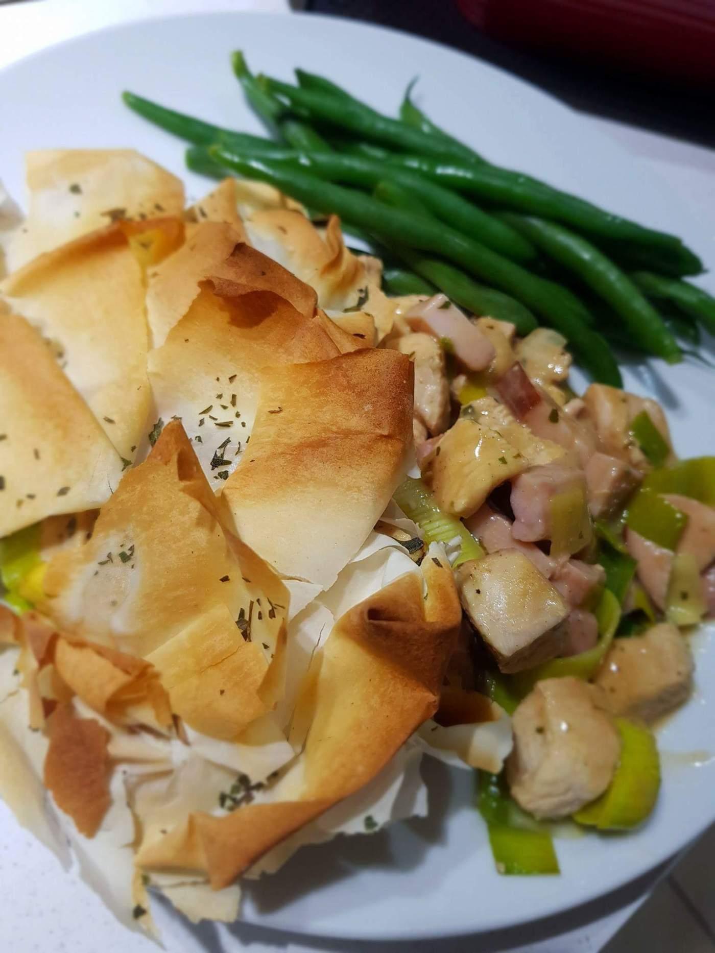 Joe Wicks Tarragon Chicken Leek And Ham Pie Cook Eat Yum